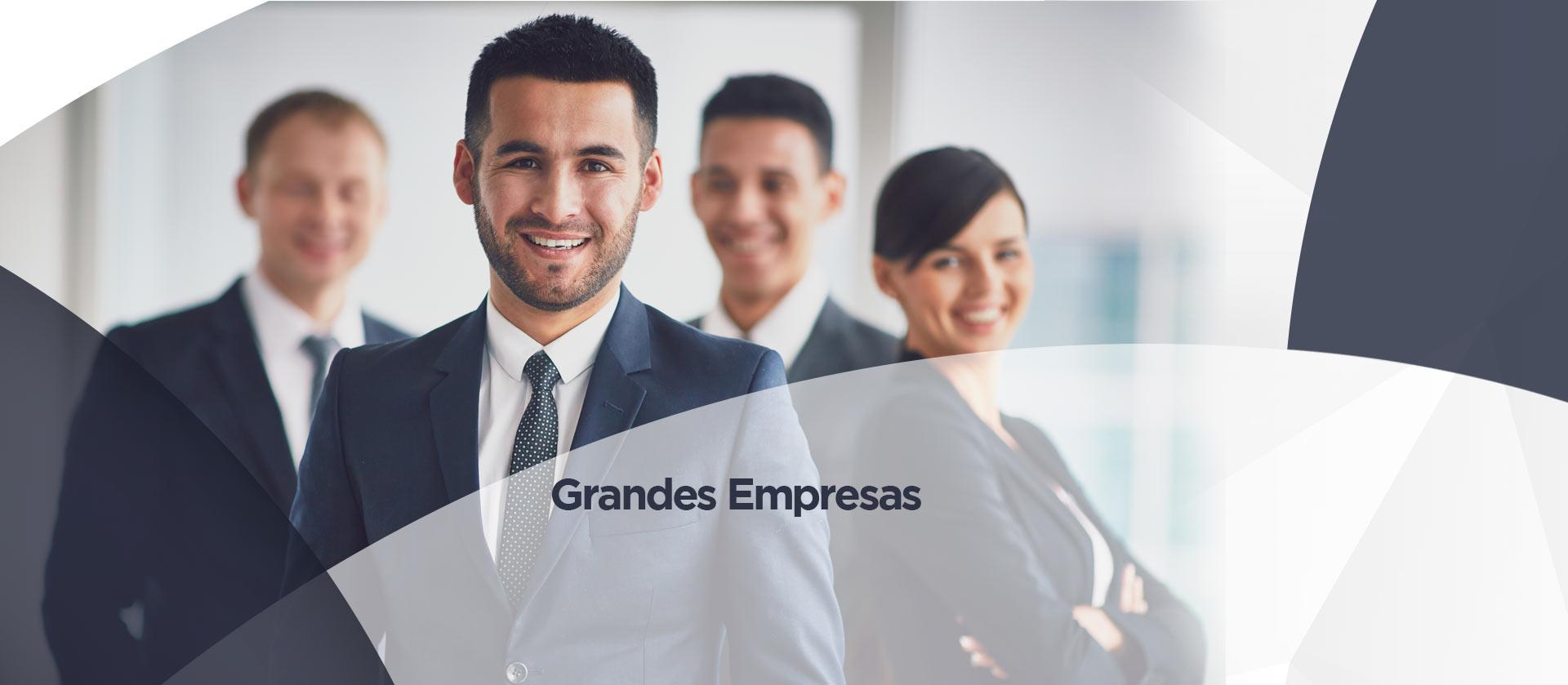 Page Grandes Empresas